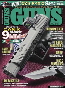 Canik TP9SFx Featured in December GUNS Magazine