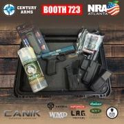 Century Arms Announces Daily Gun Giveaways & Appearances at NRA Convention 2017