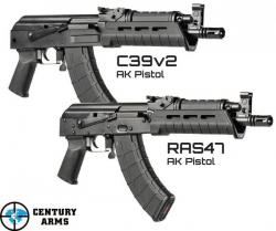 Century Arms Announces Release of New AK-47 Pistols