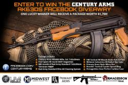 Century Arms AK63SDS Rifle Package Facebook Giveaway