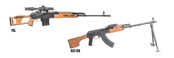 Century Arms Bringing New AES10B and PSL Rifles Back to the U.S. Market