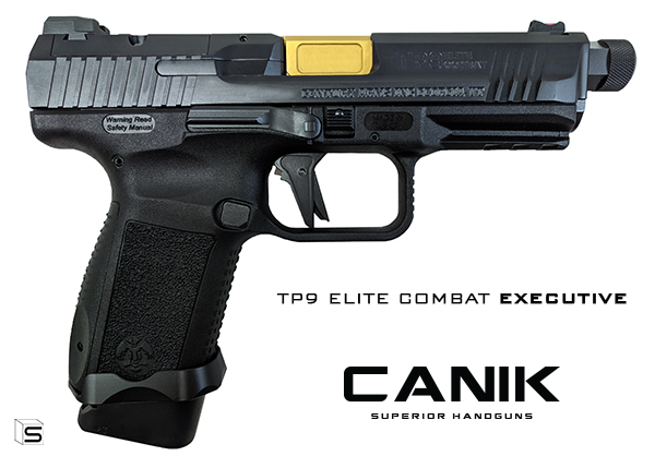 CANIK UNVEILING NEW TP9 ELITE COMBAT EXECUTIVE AT NRA ANNUAL MEETING IN INDIANAPOLIS