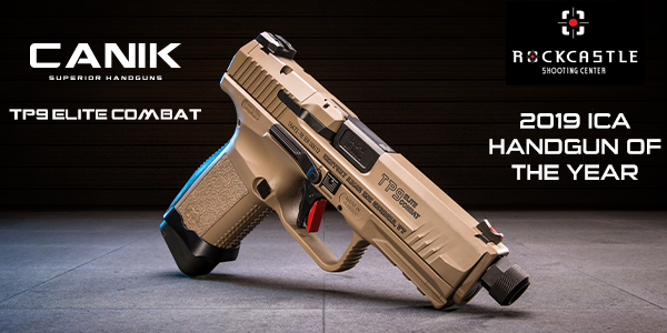 CANIK TP9 ELITE COMBAT NAMED INDUSTRY CHOICE HANDGUN OF THE YEAR