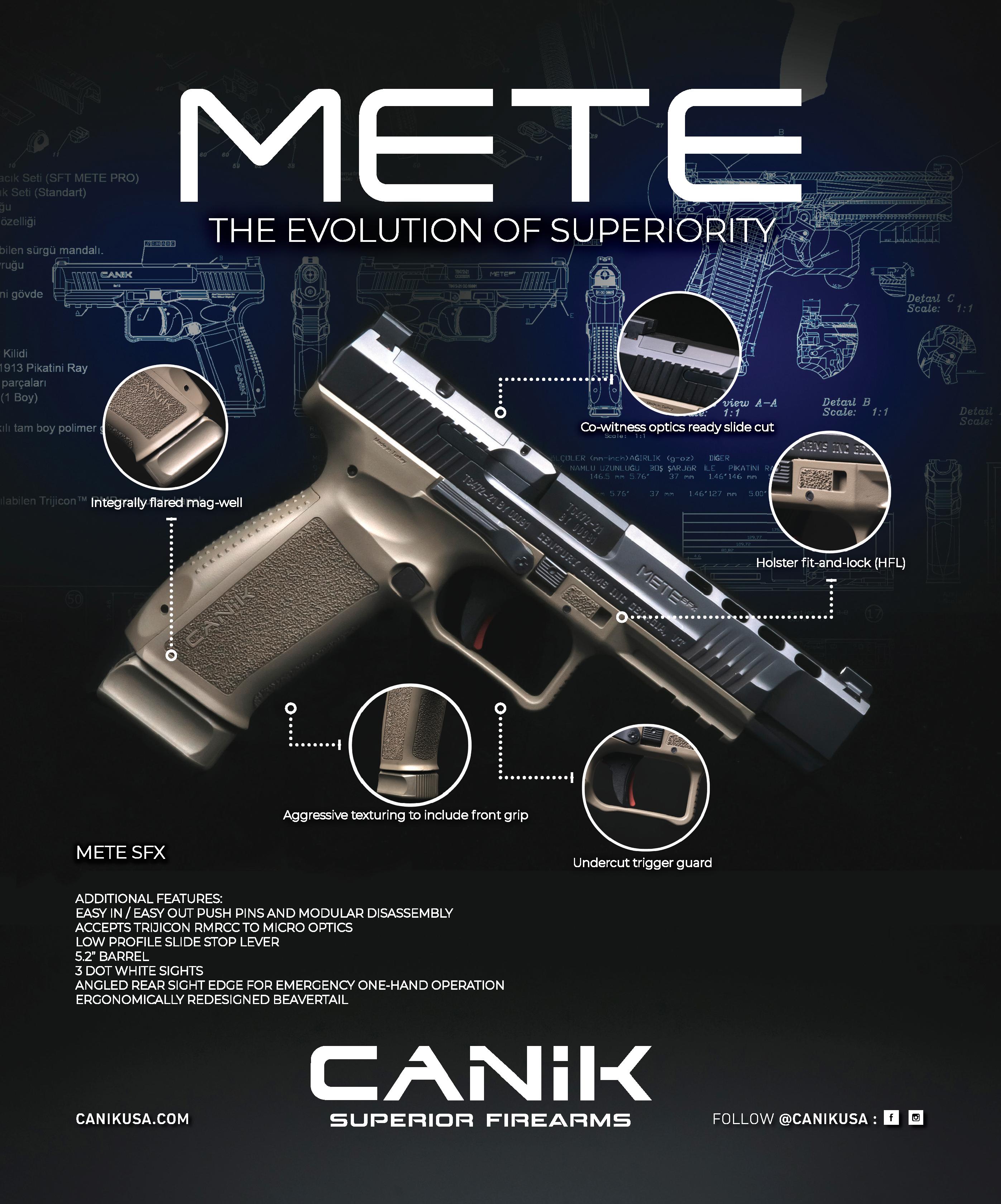 NEW Canik METE Series Announcement