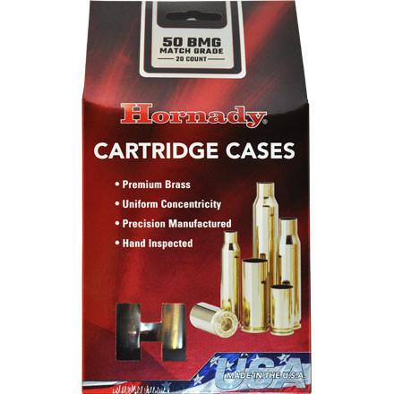 Hornady Match Brass 50 BMG Box of 20