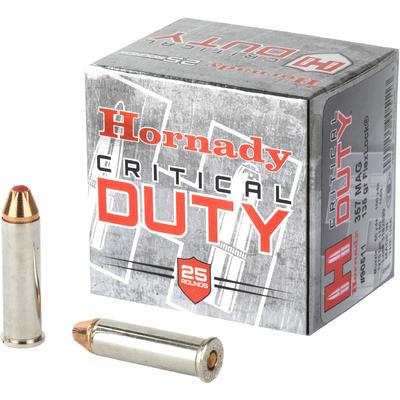 Hornady Critical Duty 357 Magnum, 135 GR FTX, Box of 25