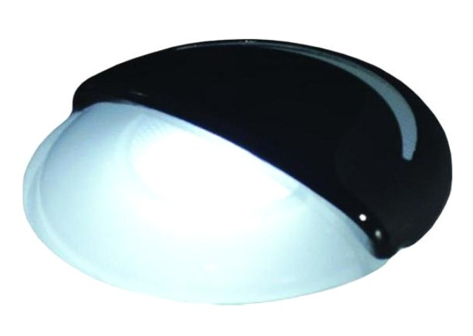 T-H Marine - White Companion Way LED Light with Eyebrow Accent Slit