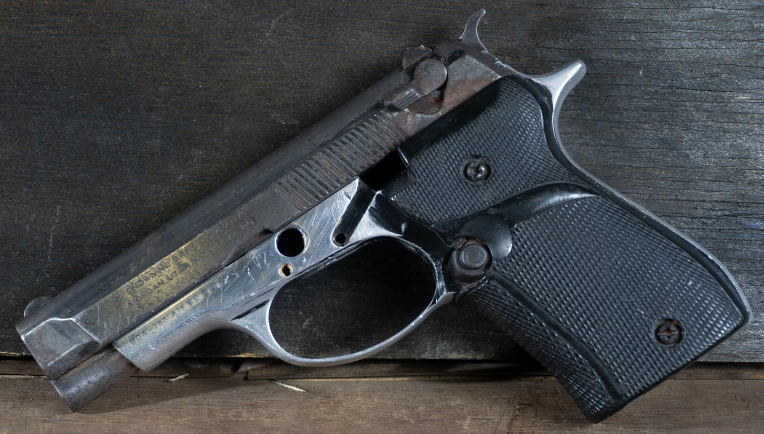 Browning BDA-380, 380 ACP, No Magazine, *Poor, Incomplete*