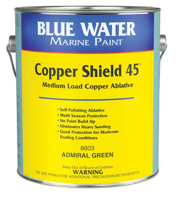 Blue Water Marine Copper Shield Scx45 Marine Black - Gallon