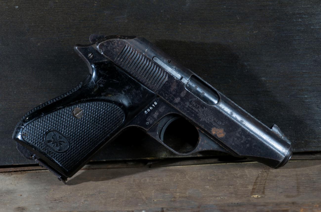 Bernardelli Model 80, Blue, 380 ACP, *Fair, Incomplete*