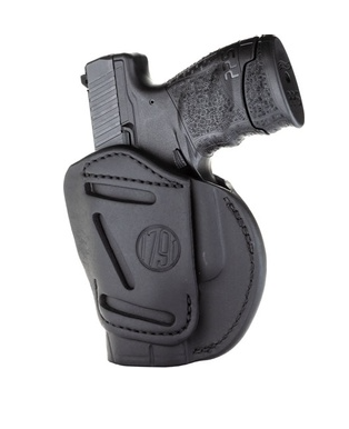 1791 Gunleather 3 Way Stealth OWB Holster Glock 26/ Ruger LCP/ S & W Shield Ambi