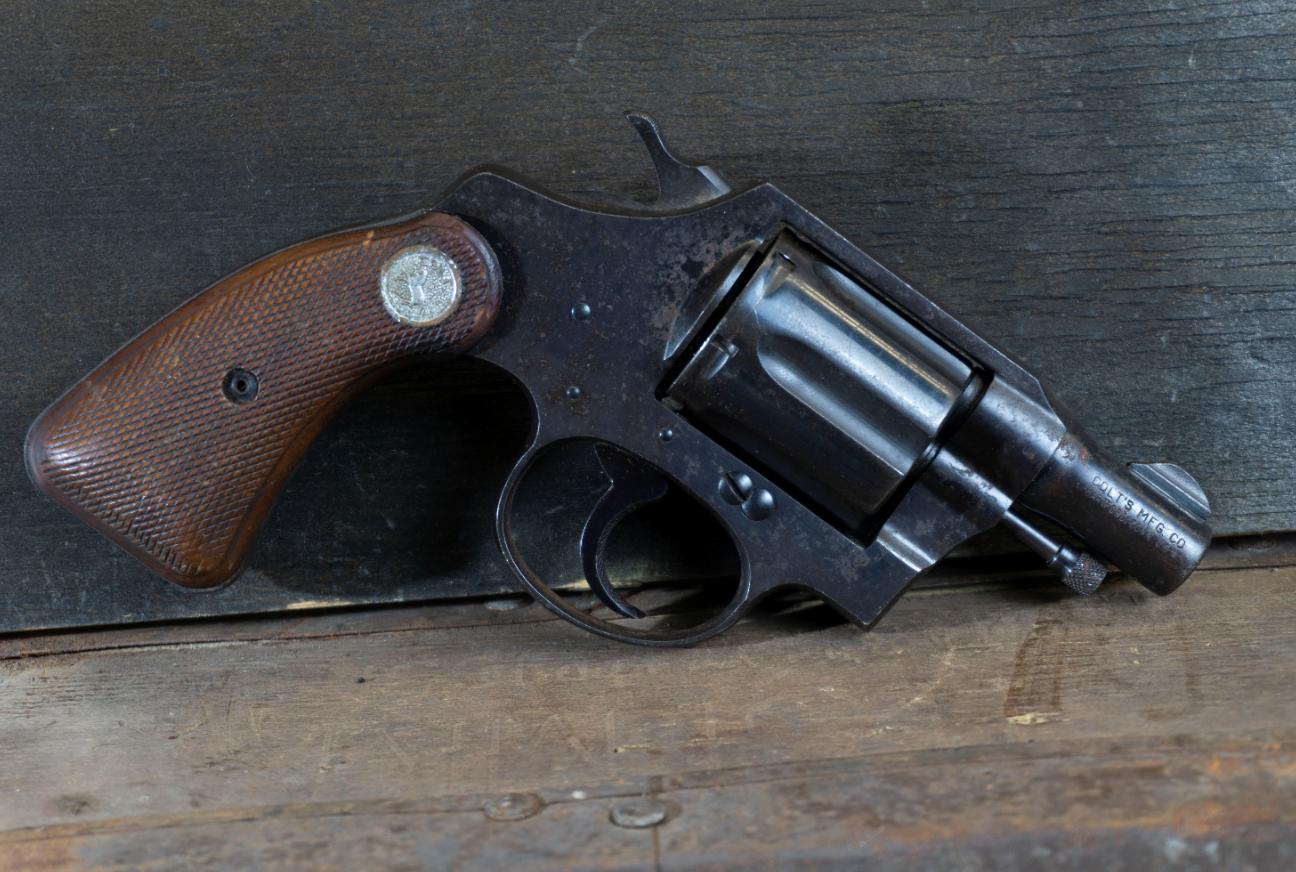 "Colt Detective Special, 2nd Series, 32 Colt NP, 2"" Blue, *Good, Incomplete*"