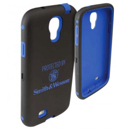 Allen S&W Galaxy S4 Cell Phone Case - Black/Blue