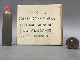 FNM Portugal 7.62mm Nato Grenade Launcher Blank, 10rd Box