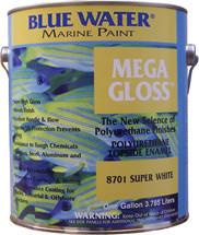 Blue Water Marine Paint, Mega Gloss, Battleship Grey, 1 Gallon