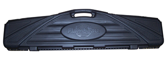 Flambeau Black Polymer Single Rifle Gun Case