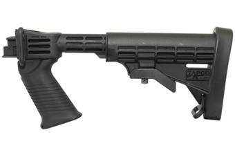 Saiga T6 Stock Set - Black w/ Integrated Pistol Grip