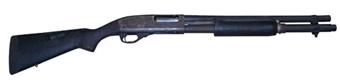 "Remington 870 Police Magnum 12GA, 3"", 18"" Barrel, Syn Stock, *Good, Incomplete*"