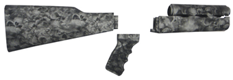 ReaperBlack PAP Rifle Stock Set