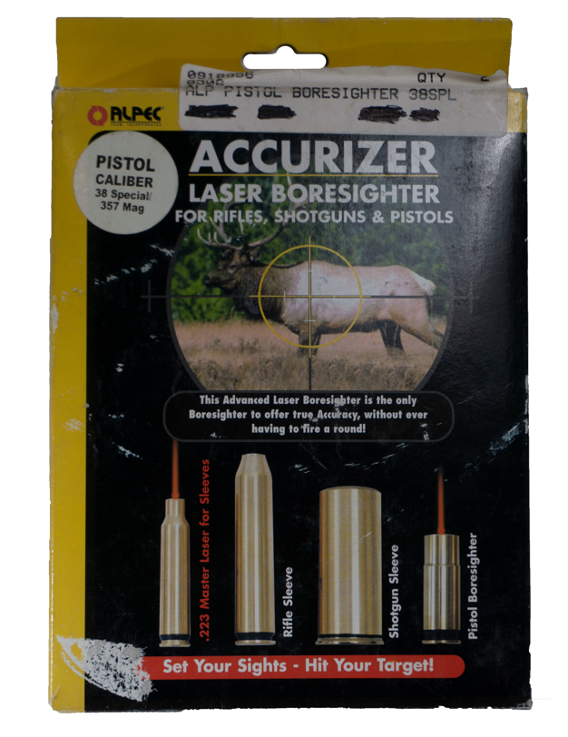 Accurizer Laser Boresighter For 38 Special Pistol