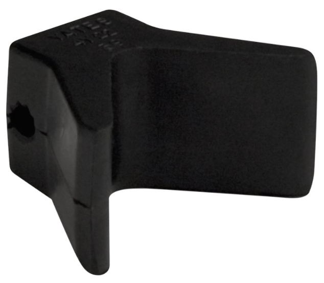"C.E. Smith 29552 2""x2"" Black Rubber Y-STOP"