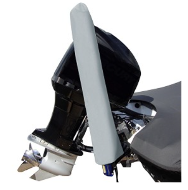 Carver Performance Poly-Guard 4 ft. Power Pole Cover - Grey - 6000-04P-10