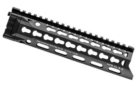 Daniel Defense AR-15 MFR XL 9.0 Keymod Rail Free Float Handguard Aluminum Anodized Black