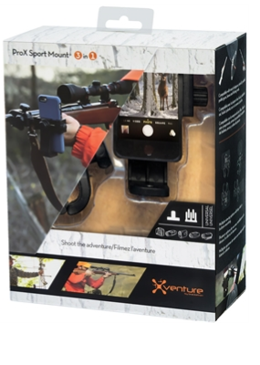 Xventure ProX Sport Mount 3-In-1 for Select Cameras and Smartphones