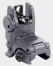Magpul AR-15 MBUS Gen 2 Flip Up Rear Sight Polymer Gray MAG248-GRY