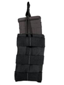 Tac Shield AR-15 Single Speed Load Rifle Magazine Pouch Belt Mounted 1000 Denier Black