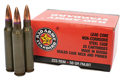 RED ARMY STANDARD .223 REM 56 GR FMJBT, 1000 RD CASE