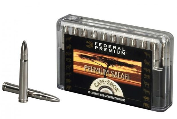 Federal Premium Cape-Shok 416 Rem Mag, Trophy Bonded Sledge Hammer, Box of 20