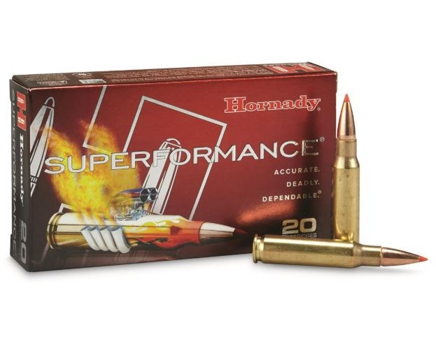 Hornady Superformance 308 Win, 165 GR SST, Box of 20