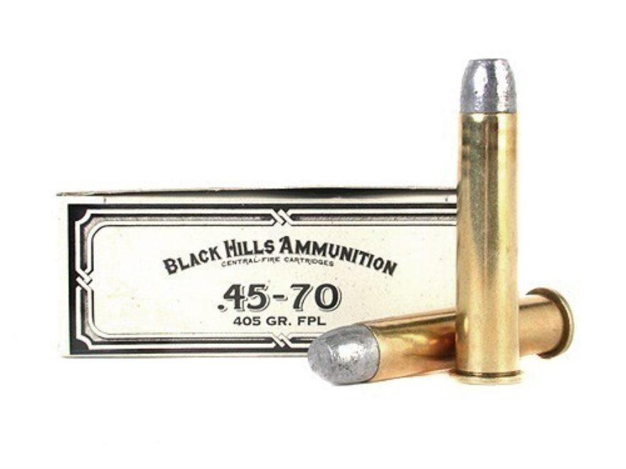 Black Hills 45-70 GOVT 405gr FPL, Box of 20