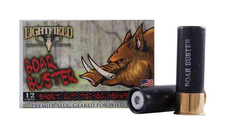 "Lightfield Boar Buster 12 GA, 2-3/4"" 1oz Sabot Slug, Box of 5"