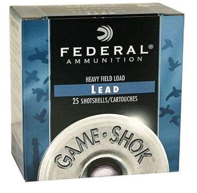 "Federal Game-Shok 20 GA, Hi-Brass 2-3/4"" #7.5 Lead, 1oz, Box of 25"