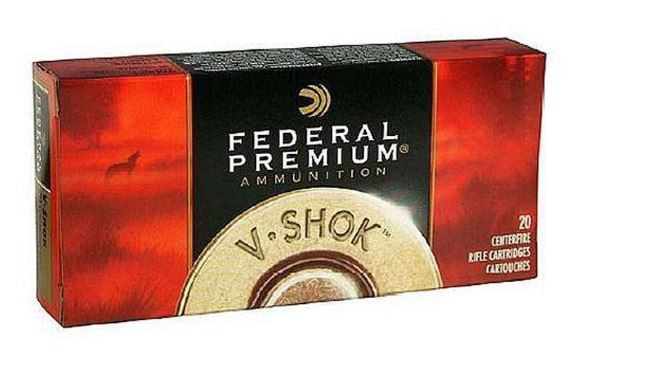 Federal Premium 223 Remington, 55 Grain V-Shok PT,  Box of 20