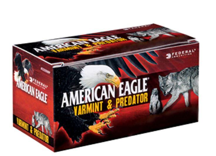 American Eagle .17 Hornet, 50 Round Box, Tipped JHP 20 Grains