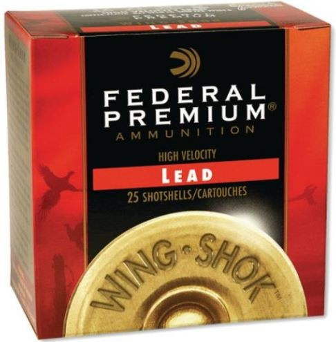 Federal Wing-Shok Pheasants Forever 12 Gauge, 2.75 Inch, 25 Round Box