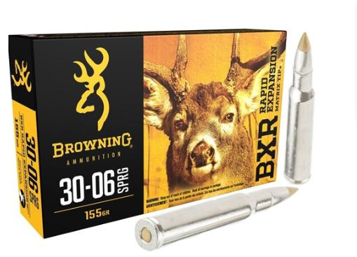Browning BXR 30-06 Sprg, 155 GR BXR, Box of 20