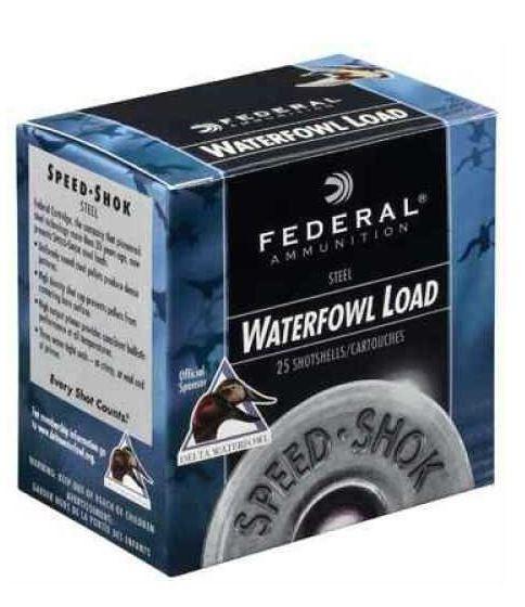 "Federal Cartridge 12 Gauge 3.5"" 1 3/8Oz #4 Speed-Shok Waterfowl Ammunition, 25 Round Box"