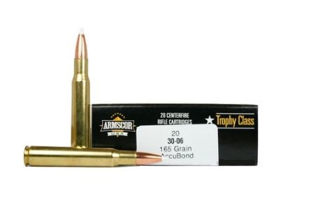 Armscor 308 Win, 165 GR Accubond, Box of 20