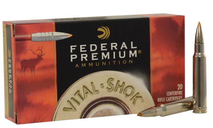 Federal Premium 338 Winchester Magnum 200 Grain Trophy Bonded Tip, Box of 20