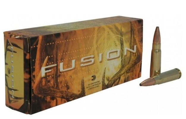 Federal Fusion 7.62x39mm, 123 GR, Box of 20
