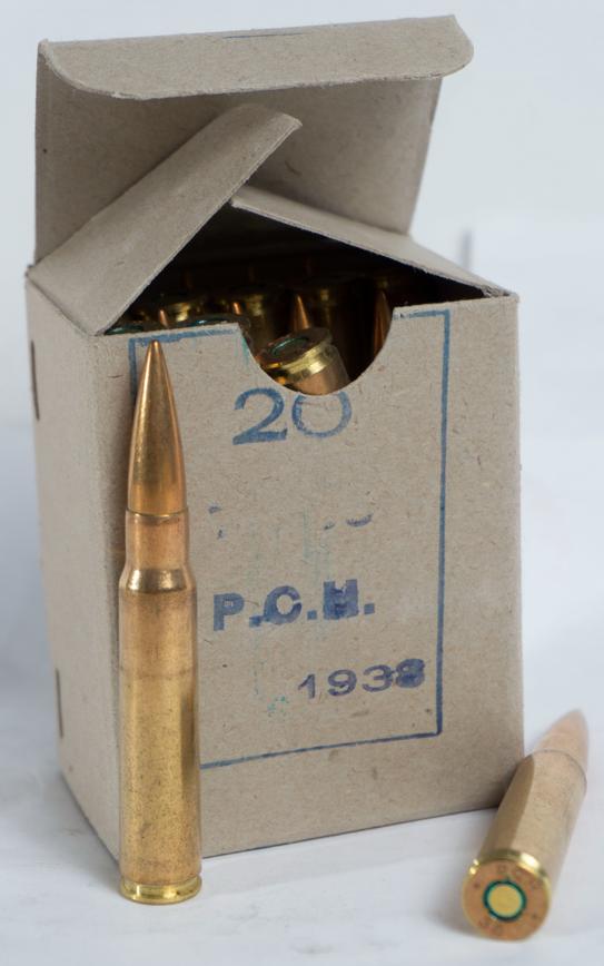 Greek 8mm, 20rd Box, 960rd Case