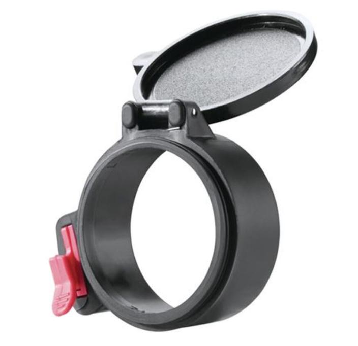 Butler Creek Flip-Open Scope Cover Eyepiece Size 19 Polymer Black
