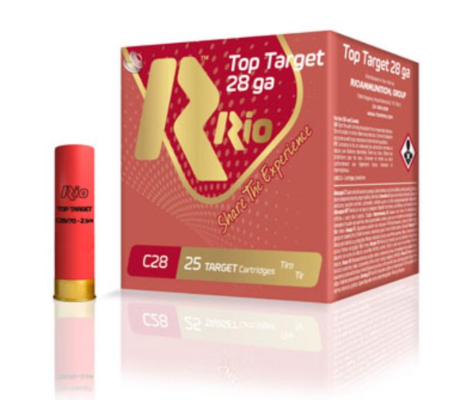 "Rio Top Target 28 GA, 2-3/4"" #7.5 Shot, Box of 25"