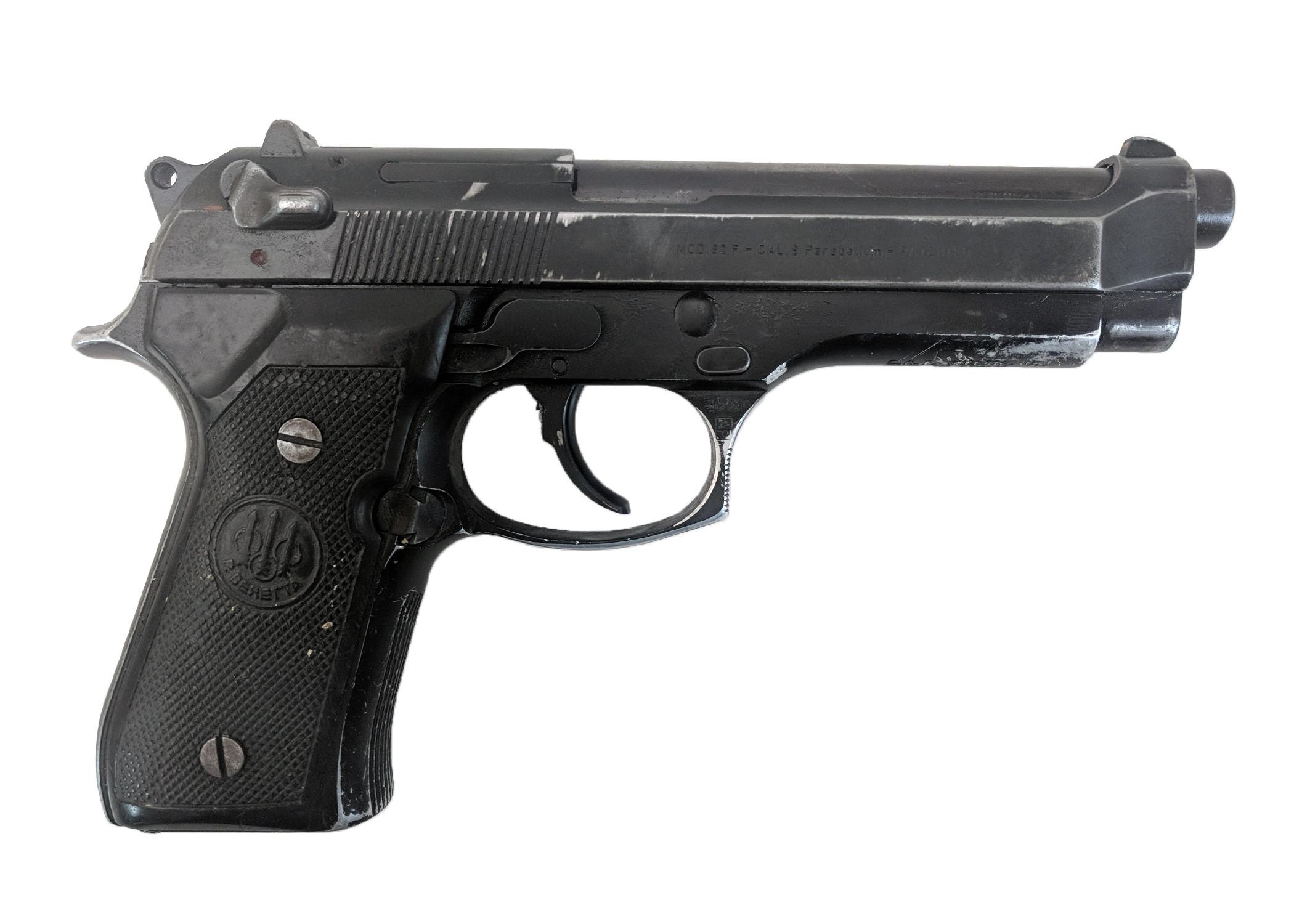 Beretta 92F, 9mm, No Magazine