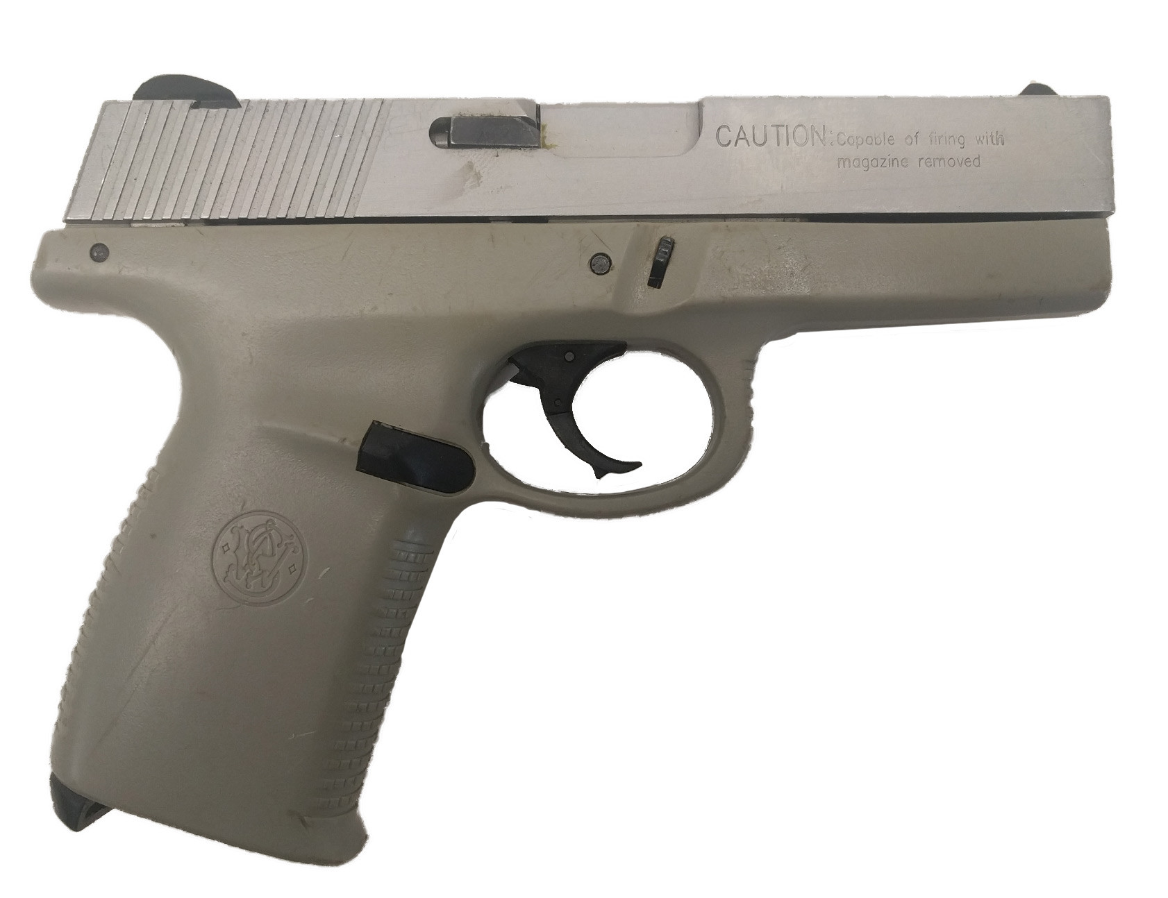 Smith & Wesson SW40V, .40 S&W, Stainless, No Magazine, *Good, Incomplete*