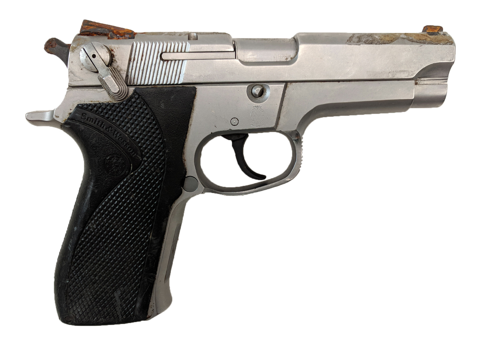 Smith & Wesson 5906, 9mm, No Magazine, *Good, Incomplete*
